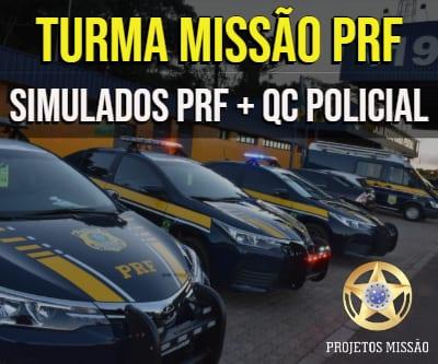 turma missao prf 2019 simulados