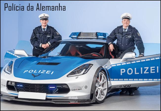 policia alemanha saga policial