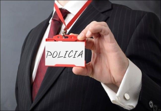 Uma carteirada na luta policial