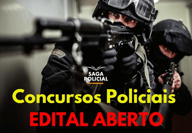 Concursos Policiais EDITAL ABERTO