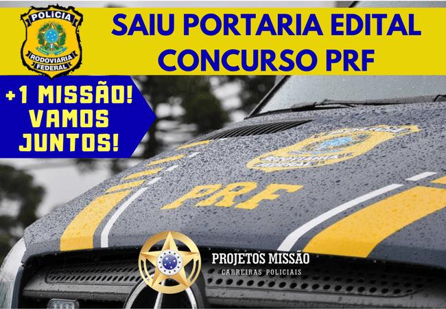 PORTARIA EDITAL CONCURSO PRF