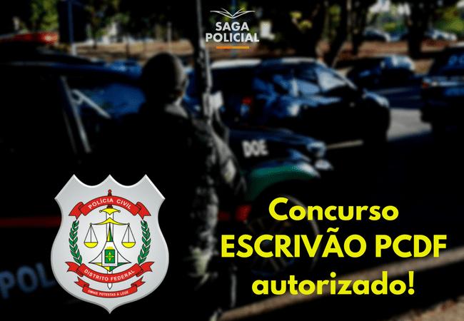 Concurso ESCRIVÃO PCDFautorizado!