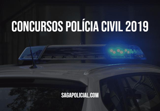 CONCURSOS POLICIA CIVIL 2019