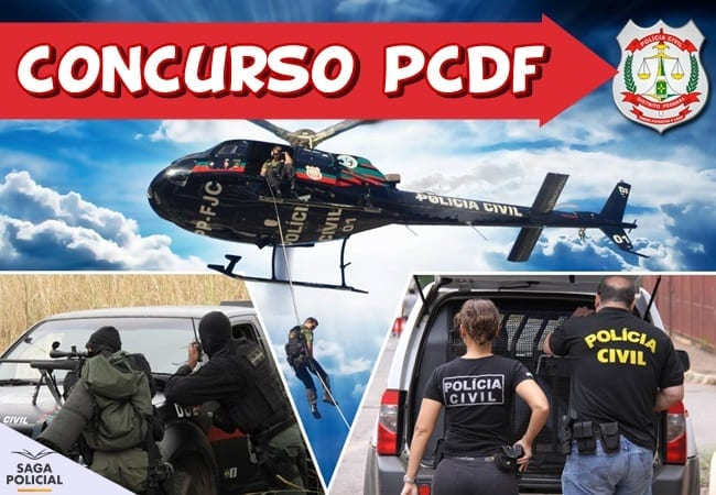 edital concurso pcdf saga policial