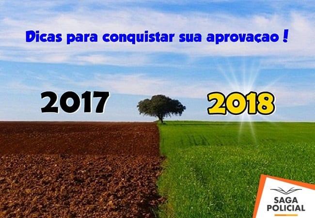Dicas para 2018 o ano dos concursos materia saga policial