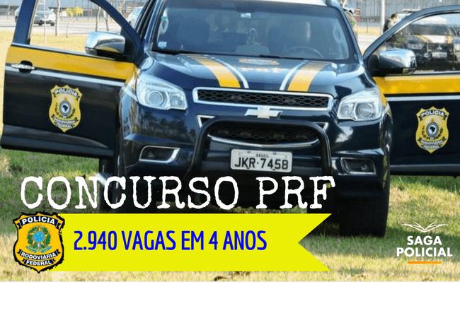 CONCURSO PRF 4 ANOS