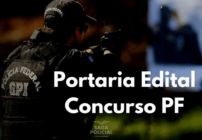 Portaria Edital Concurso PF