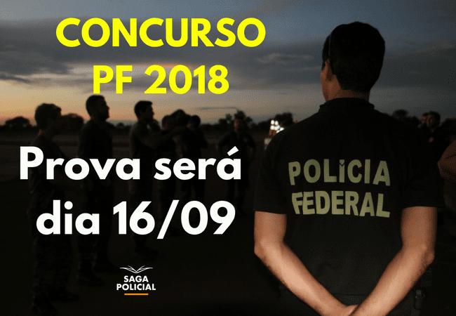 CONCURSO PF 2018