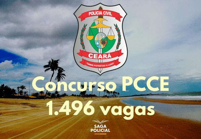 Concurso PCCE 1.496 vagas