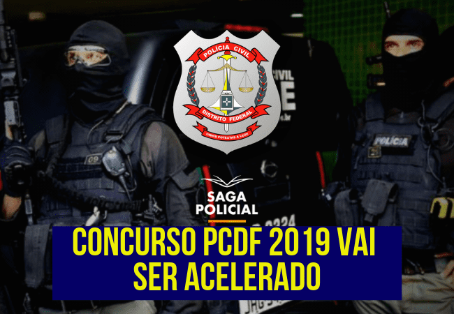 edital concurso pcdf 2019