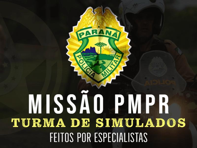 TURMA simulados PMPR